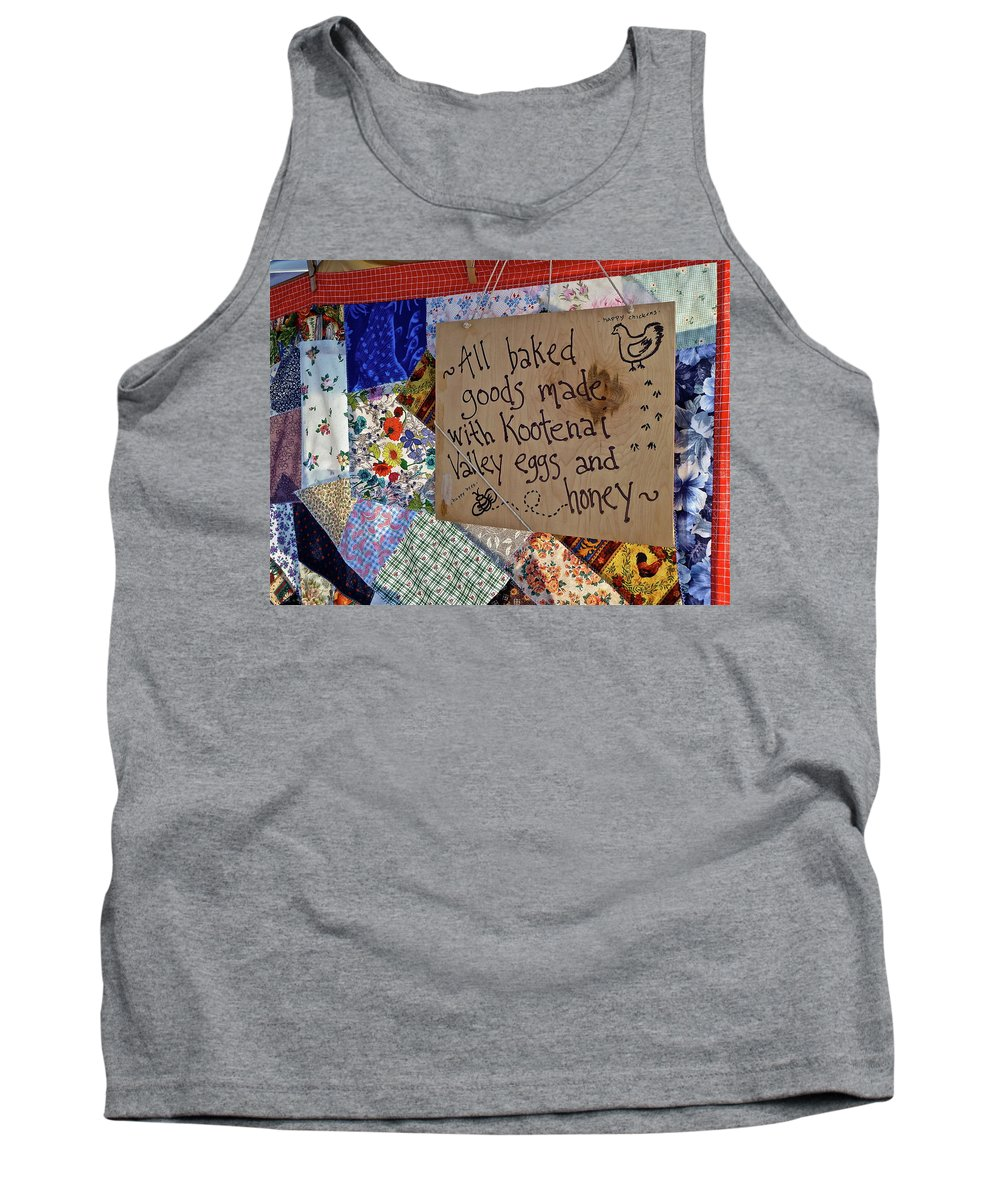 Farm Tank Top featuring the photograph Country Farmer's Market by Diana Hatcher