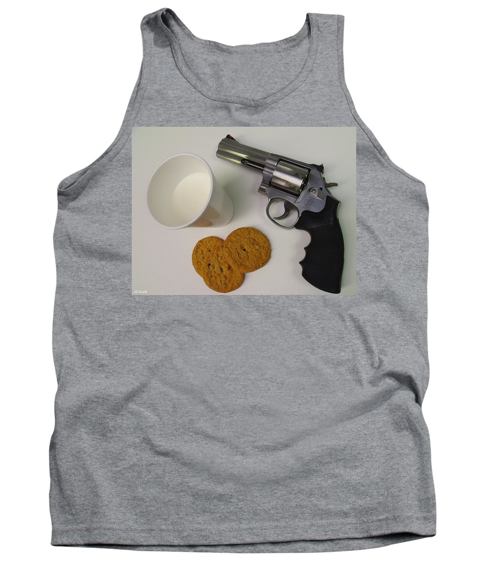 Still Life Tank Top featuring the photograph Cowboy Junky by Ed Smith