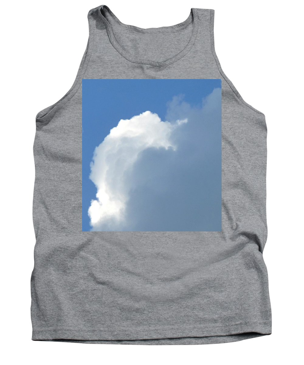 Cloud Tank Top featuring the photograph Cumulus Nimbus by Ian MacDonald