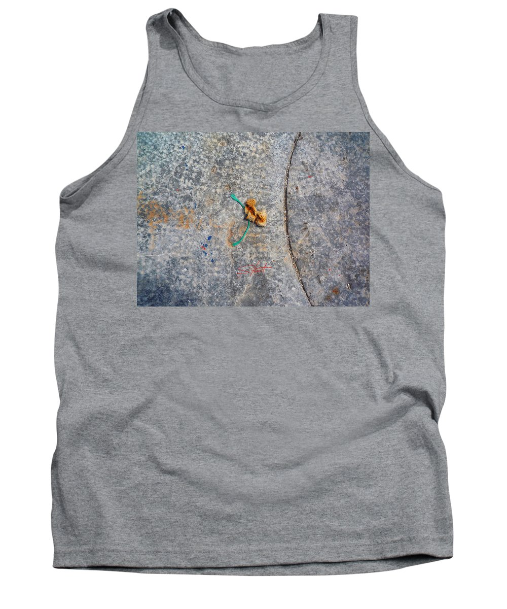 Fishing Net Tank Top featuring the photograph Curve And Counter Curve by Charles Stuart
