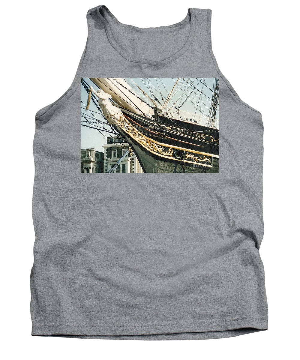 Ship Tank Top featuring the photograph Cutty Sark by Mary Rogers