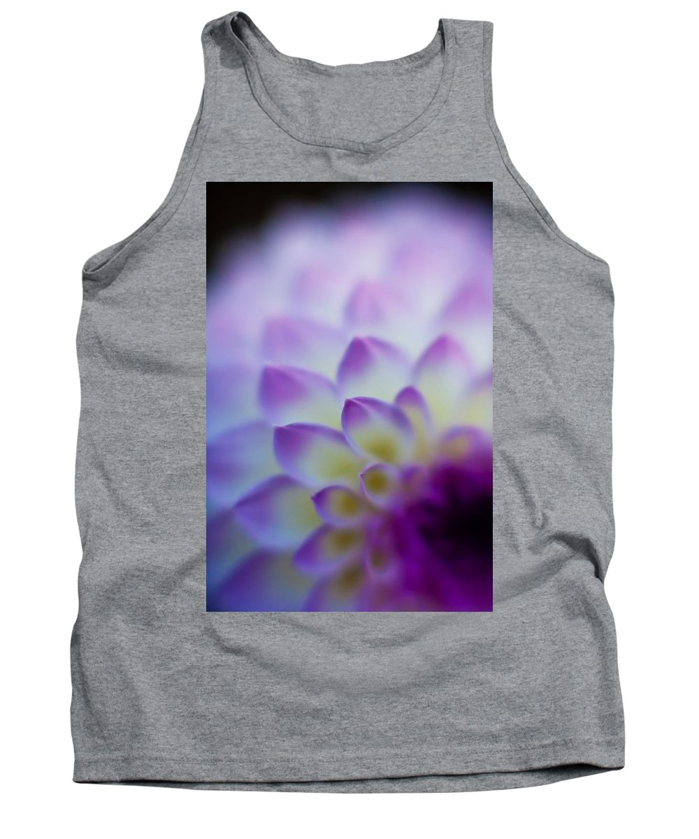 Dahlia Tank Top featuring the photograph Dahlia Glow by Mike Reid