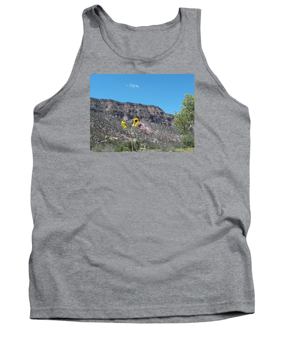 Tank Top featuring the photograph Daisy Mesa by Curtis Willis