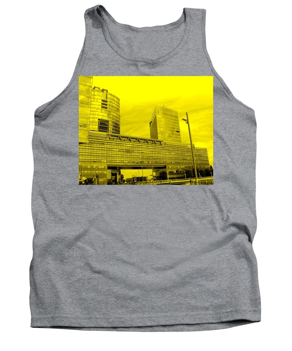 Vienna Tank Top featuring the photograph Daring Architecture by Ian MacDonald