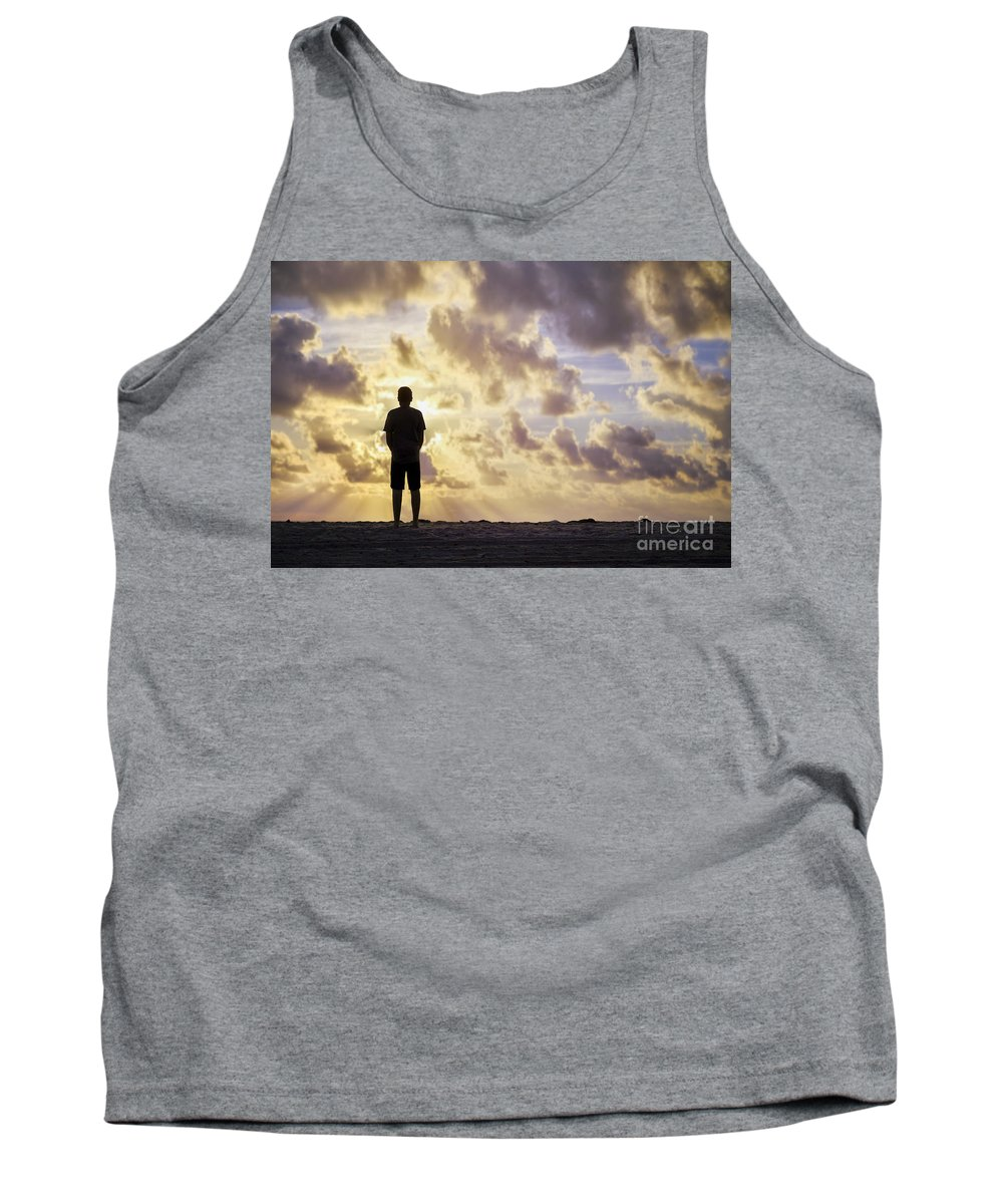 Kremsdorf Tank Top featuring the photograph Dawn Patrol by Evelina Kremsdorf
