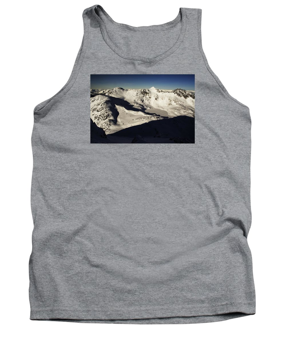Landscape Tank Top featuring the photograph Decker's Shadow by Dylan DeGraff