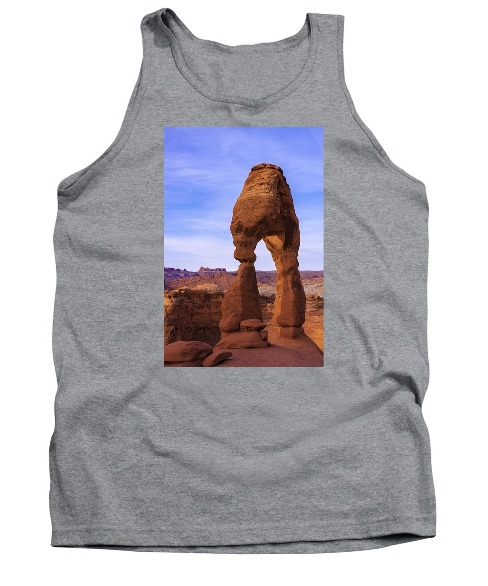Chad Dutson Tank Top featuring the photograph Delicate Landmark by Chad Dutson