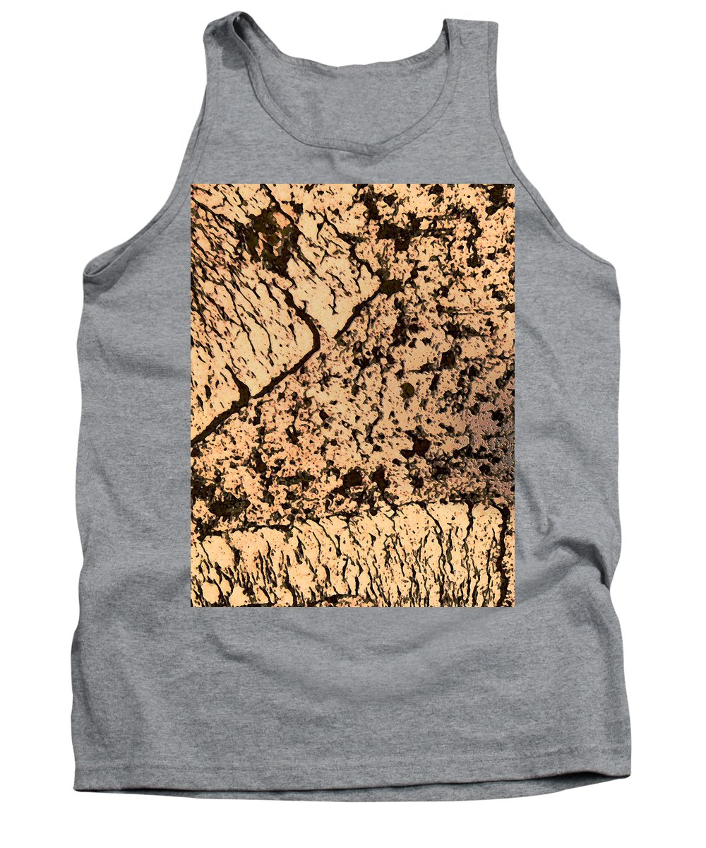 Abstract Tank Top featuring the photograph Desert Landscape by Lenore Senior