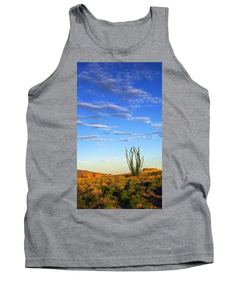 Desperado Tank Top featuring the photograph Desperado by Skip Hunt