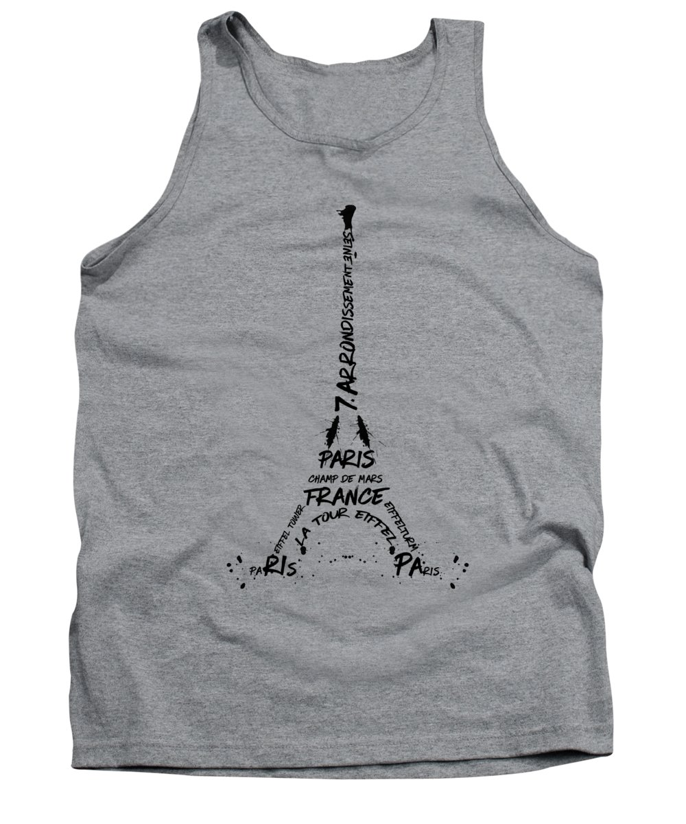 Paris Tank Tops