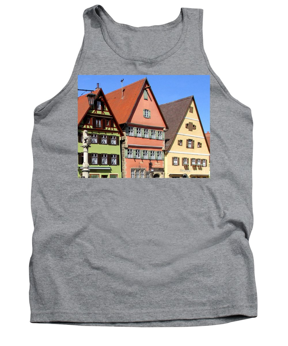 Dinkelsbuhl Tank Top featuring the photograph Dinkelsbuhl 22 by Randall Weidner
