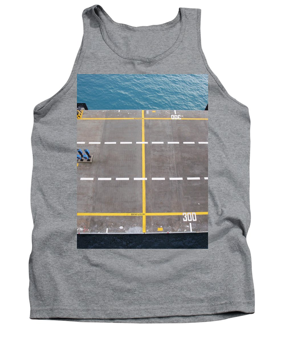 Port Tank Top featuring the photograph Do Not Cross by Are Lund