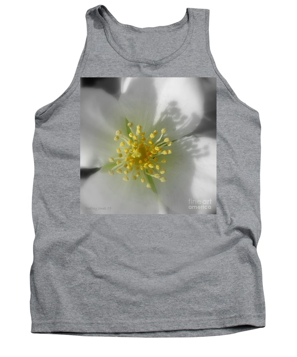 Photography Tank Top featuring the photograph Dogwood by Shelley Jones