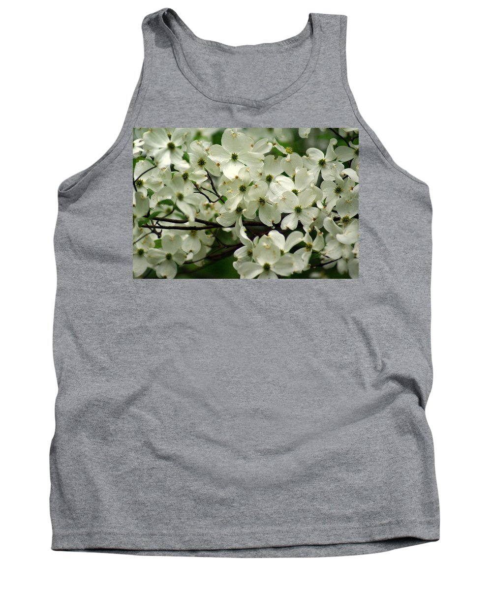 Dogwood Tank Top featuring the photograph Dogwoods by Marty Koch