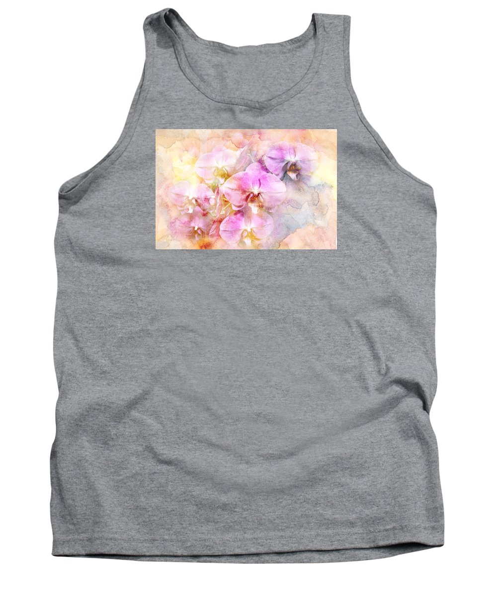 Orchids Tank Top featuring the photograph Dreaming Of Orchids by Mother Nature