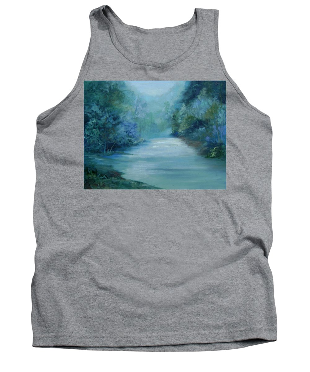 Burton River Georgia Tank Top featuring the painting Dreamsome by Ginger Concepcion