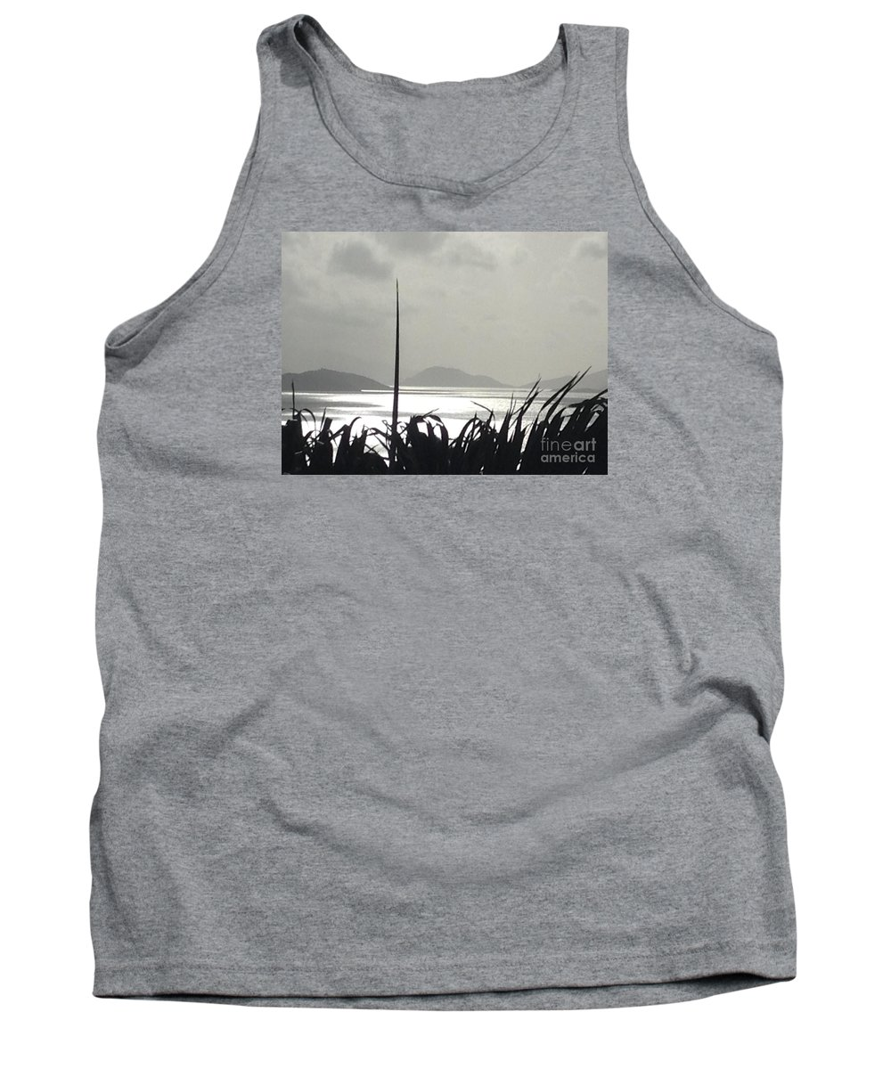Sunrise Tank Top featuring the photograph Early Morning Over Sugar Beach by Gina Sullivan