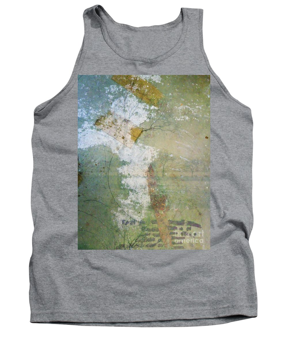 Texture Tank Top featuring the photograph Earthly Possessions by Tara Turner