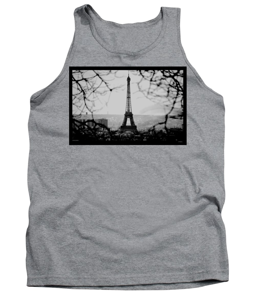 Eiffel Tank Top featuring the photograph Eiffel Eyeful by J Todd