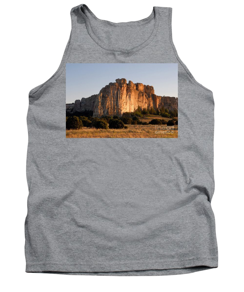 El Morro National Monument New Mexico Tank Top featuring the photograph El Morro by David Lee Thompson