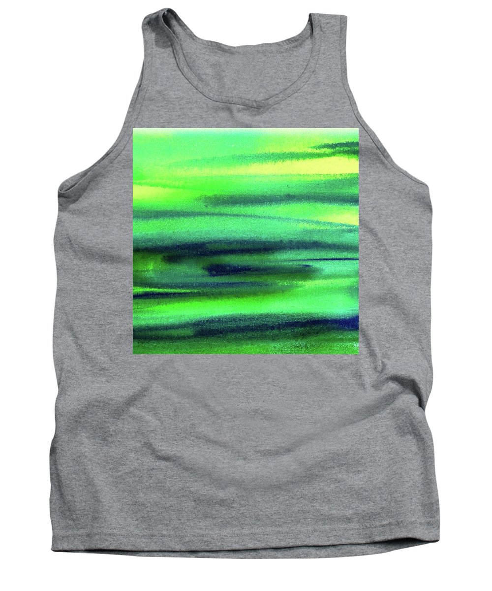 Pattern Paintings Tank Tops