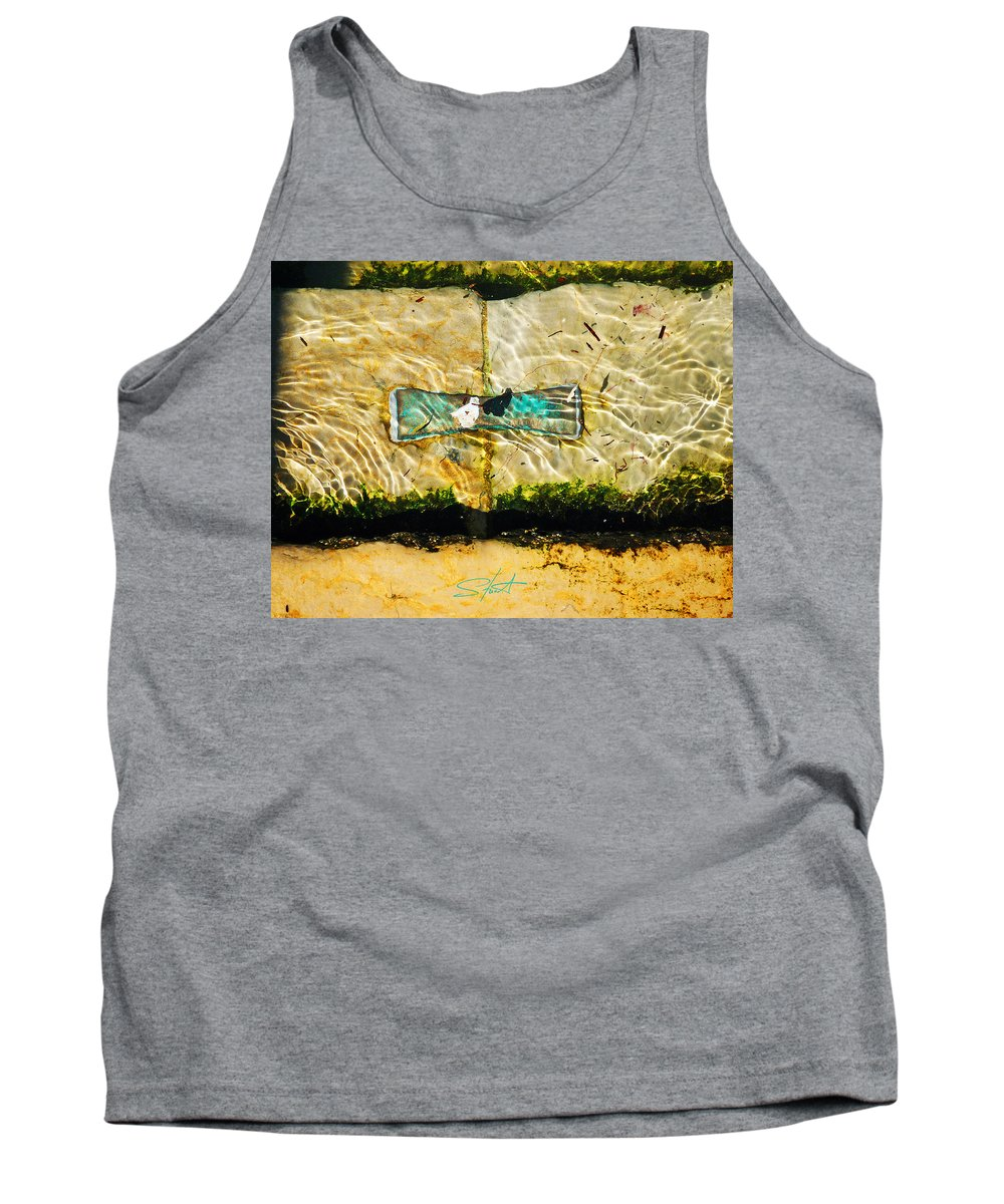 Ocean Tank Top featuring the photograph Emerald Tide by Charles Stuart