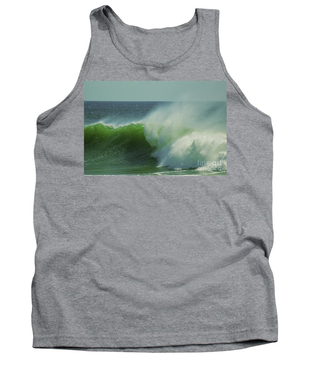 England Tank Top featuring the photograph Emerald Waters by Joe Geraci