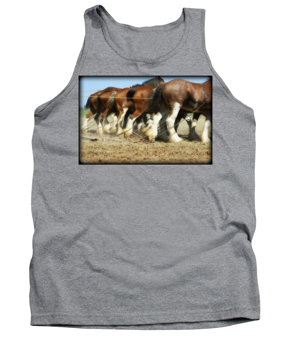 Kathryn Potempski Tank Top featuring the photograph End Of The Day by Kathryn Potempski