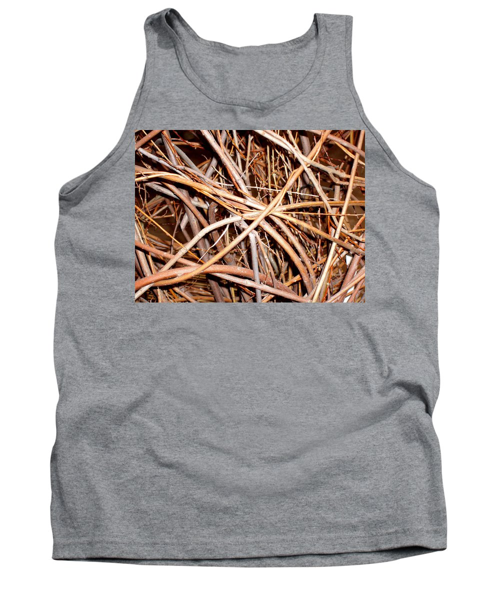 Vines Tank Top featuring the photograph Entangled by Wayne Potrafka