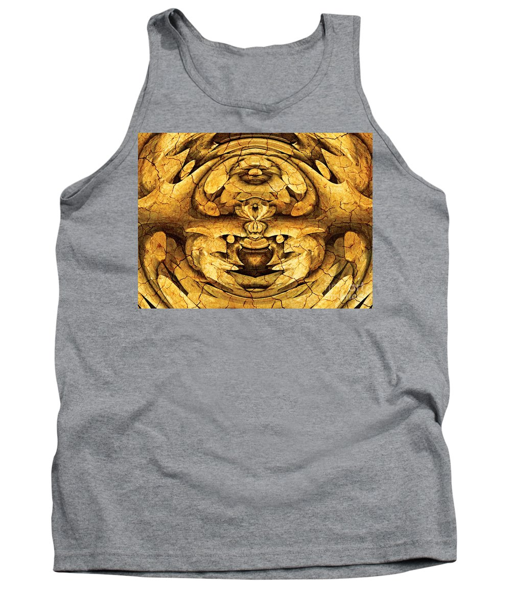 Abstract Tank Top featuring the photograph Entwinement by Samantha Joseph
