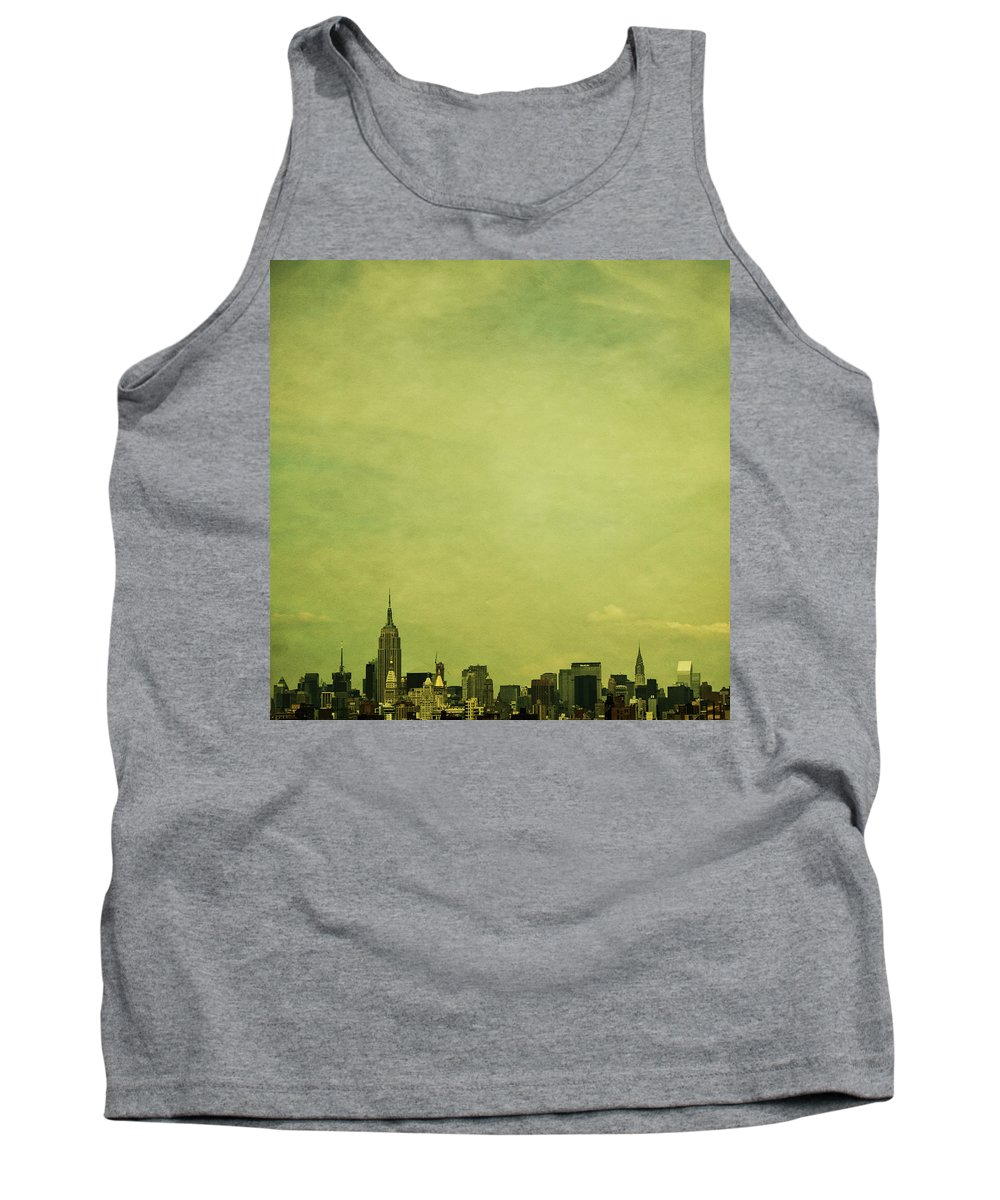 New Tank Top featuring the photograph Escaping Urbania by Andrew Paranavitana