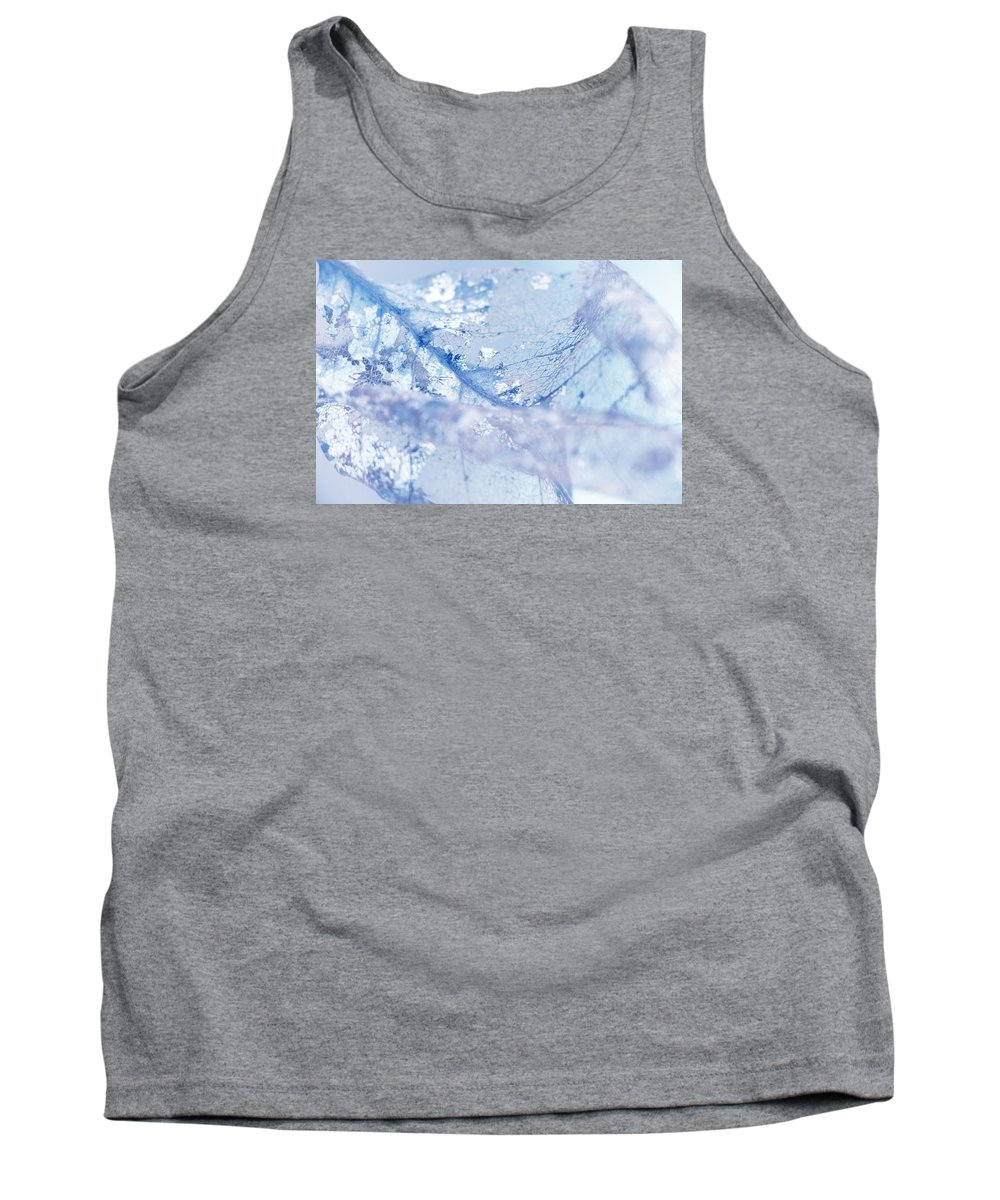 Leaf Tank Top featuring the photograph Ethereal by Iryna Goodall