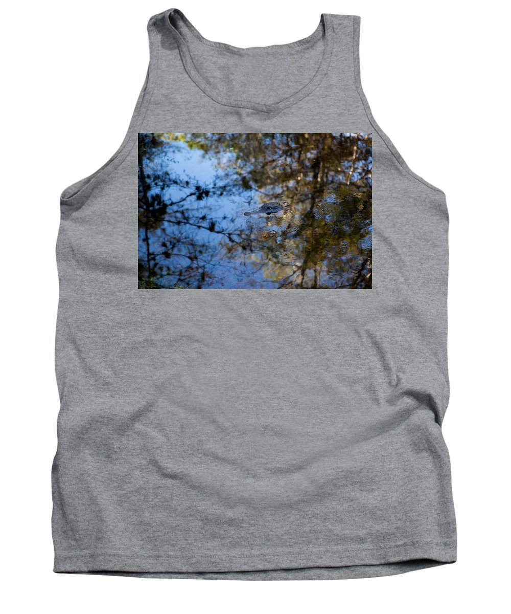 Water Tank Top featuring the photograph Evergaldes Master by J Darrell Hutto