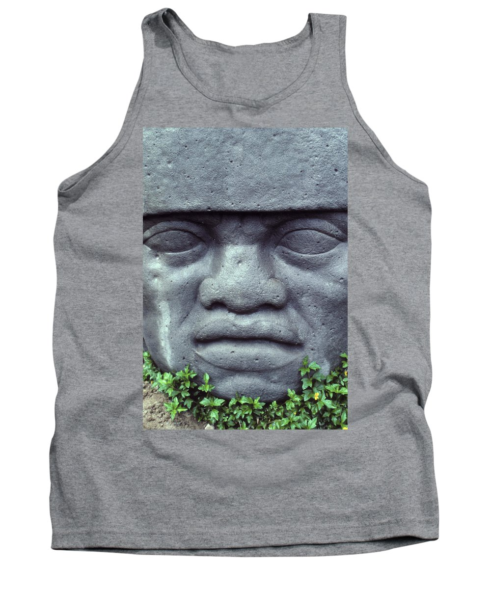 Bali Tank Top featuring the photograph Face On Bali by Jerry McElroy