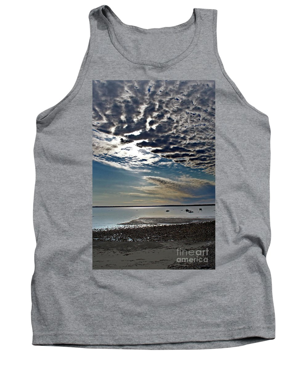 Nature Tank Top featuring the photograph Fading Light by Skip Willits