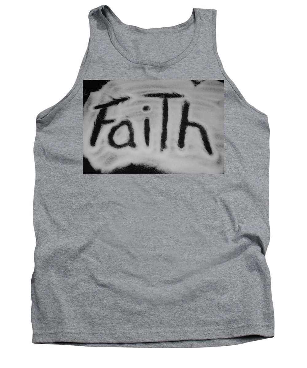 Black And White Tank Top featuring the photograph Faith by Rob Hans