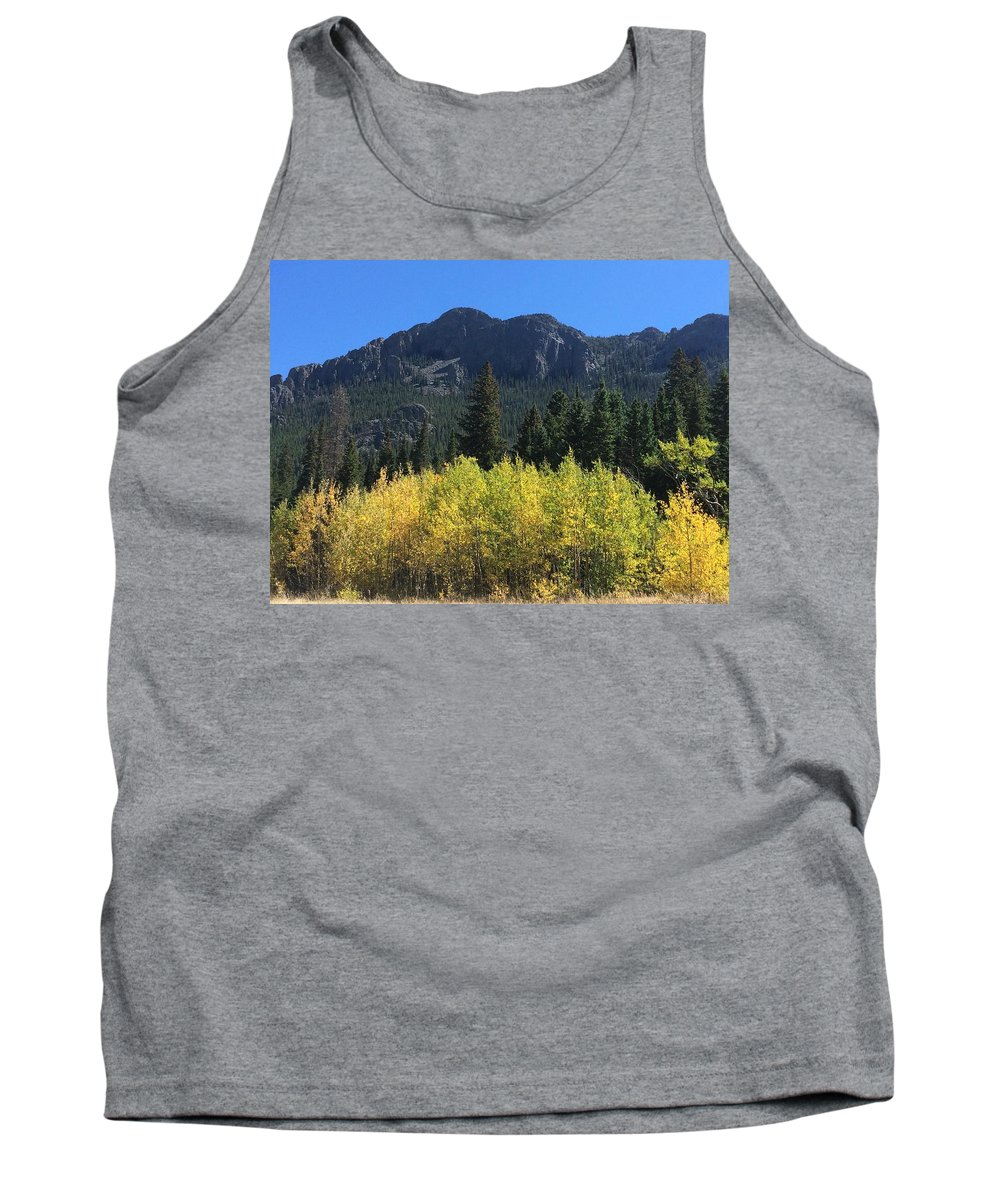 Landscape Tank Top featuring the photograph Fall at Twin Sisters by Kristen Anna