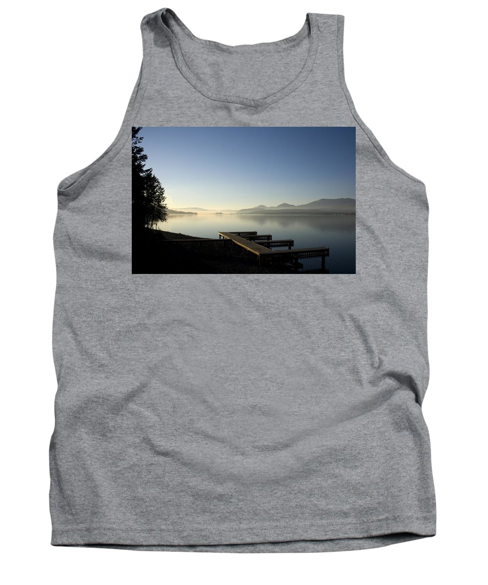 Landscape Tank Top featuring the photograph Fall Evening by Lee Santa