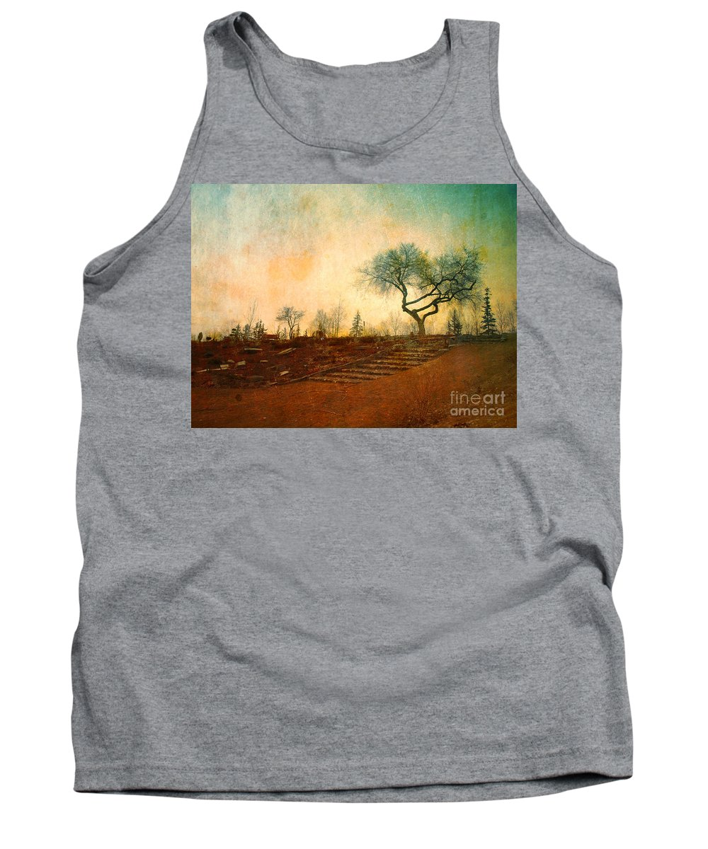 Tree Tank Top featuring the photograph Familiar Like Home by Tara Turner