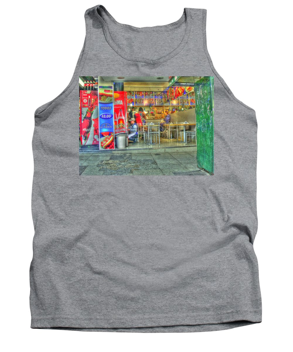 Conveniece Tank Top featuring the photograph Fast Food by Francisco Colon