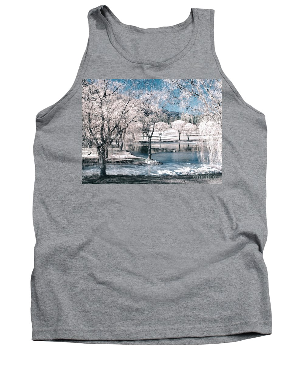 Trees Tank Top featuring the photograph February 22 2010 by Tara Turner