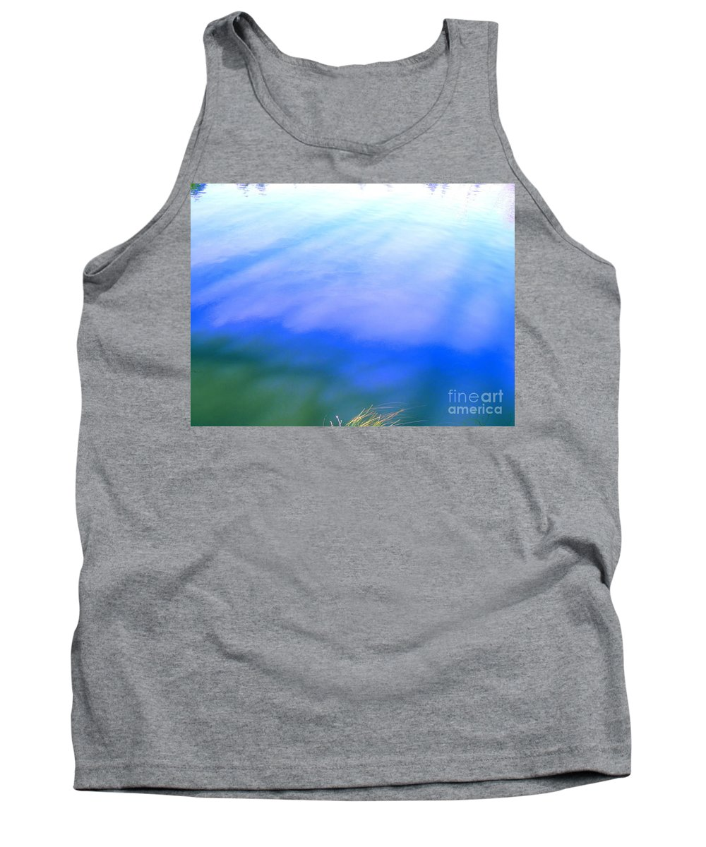 Abstract Tank Top featuring the photograph I Feel The Love by Sybil Staples