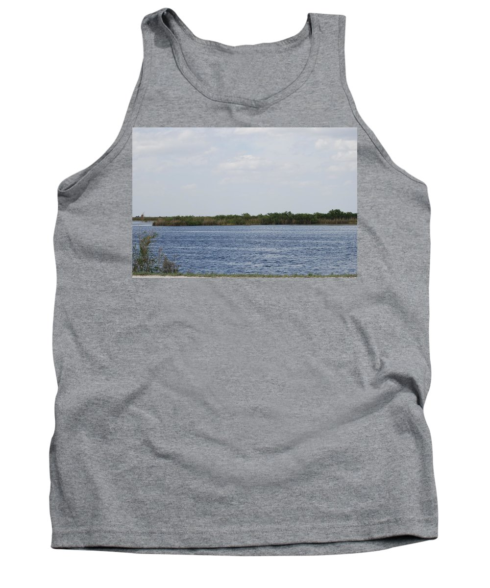 Water Tank Top featuring the photograph Fla Everglades by Rob Hans