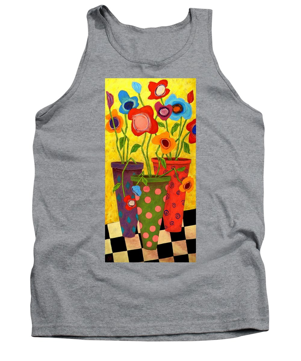 Outsider Paintings Tank Tops