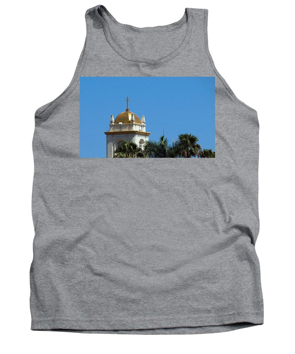 Lake Tank Top featuring the photograph Florida Church by Allan Hughes