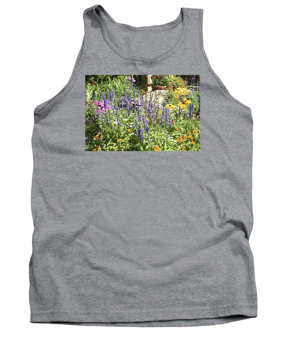 Flower Tank Top featuring the photograph Flower Garden by Margie Wildblood