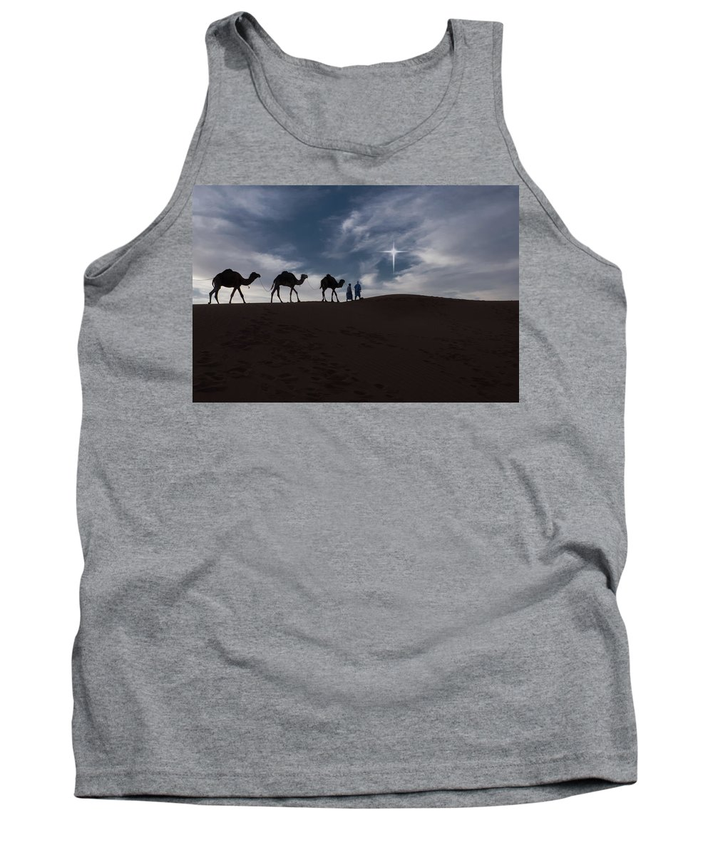 Africa Tank Top featuring the photograph Following The Star by Emily M Wilson
