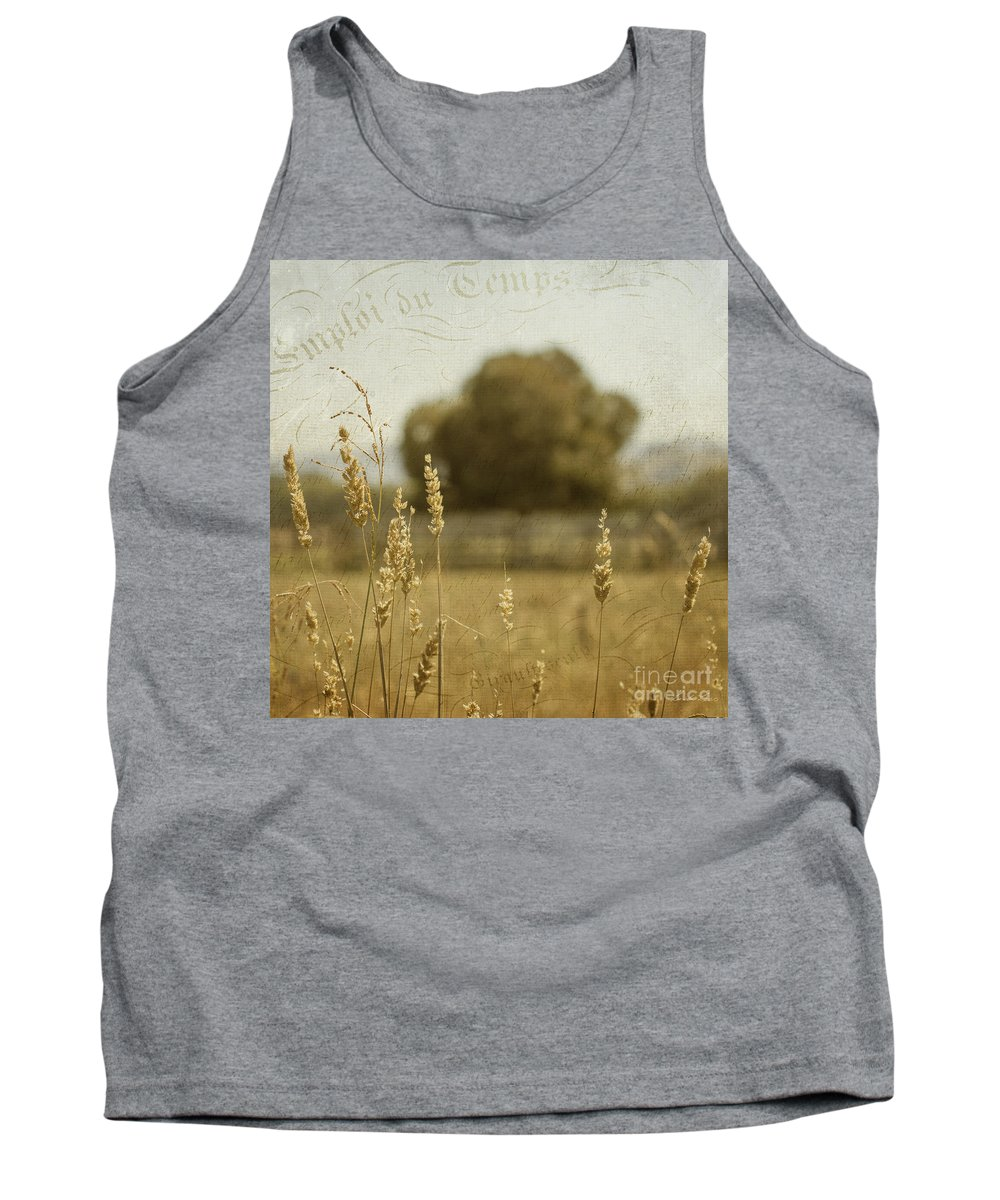 Summer Tank Top featuring the photograph For Everything There Is A Time by Linda Lees