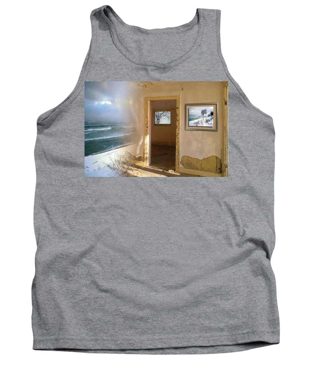 Canada Tank Top featuring the photograph Framed  by Doug Gibbons