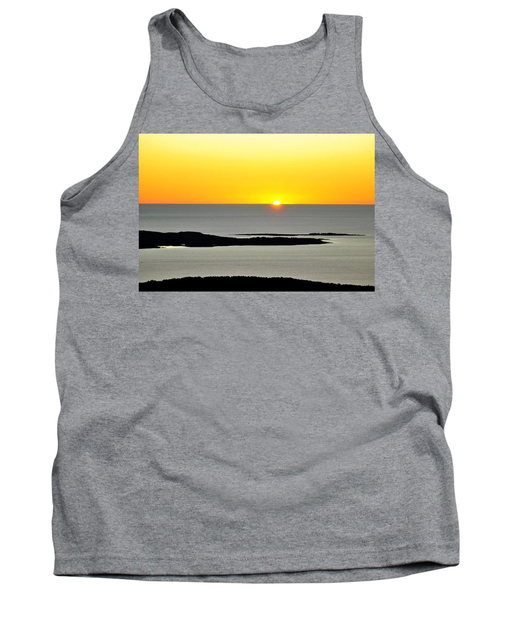 Frenchman's Bay Tank Top featuring the photograph Frenchman's Bay by Scott Coleman